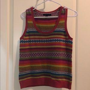 Boden Sweater Vest Size 12